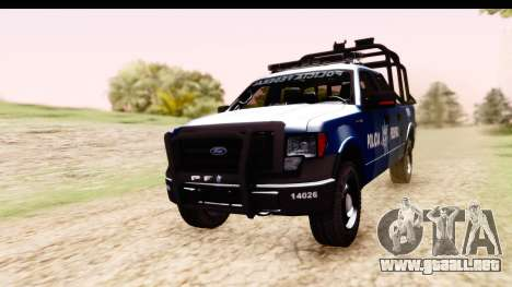 Ford F-150 Policia Federal para GTA San Andreas