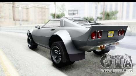 GTA 5 Lampadati Tropos Rallye para la visión correcta GTA San Andreas