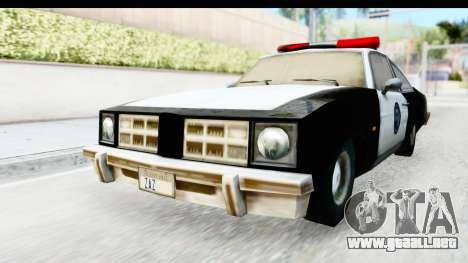 Pontiac Ventura LSPD from Silent Hill 2 para la visión correcta GTA San Andreas