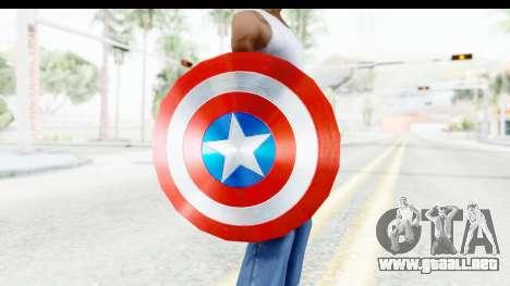 Capitan America Shield AoU para GTA San Andreas tercera pantalla