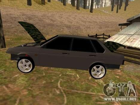 VAZ 21099 Clásico para GTA San Andreas vista posterior izquierda