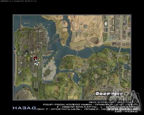 Garaje nuevo Armenia para GTA San Andreas novena de pantalla