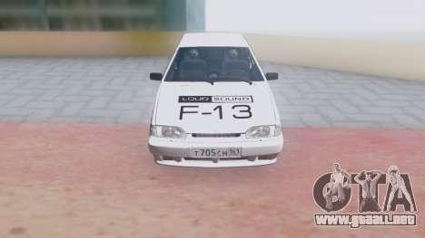 VAZ 2113 LoudSound para visión interna GTA San Andreas