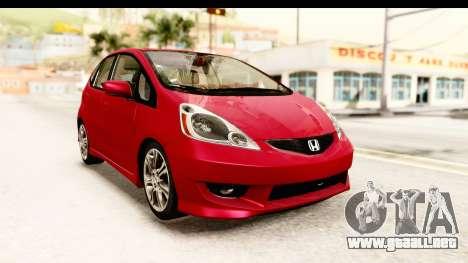 Honda Fit Sport 2009 para GTA San Andreas