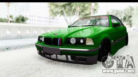 BMW M3 E36 Sloboz Edition para la visión correcta GTA San Andreas