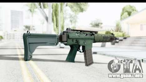 AK5C para GTA San Andreas segunda pantalla