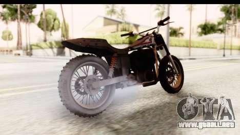 GTA 5 Western Cliffhanger Custom v1 IVF para GTA San Andreas left