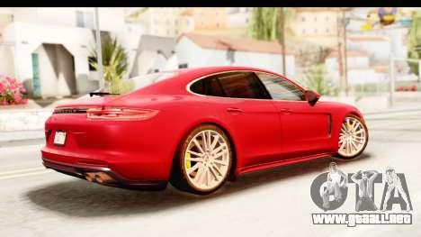 Porsche Panamera 4S 2017 v5 para GTA San Andreas left