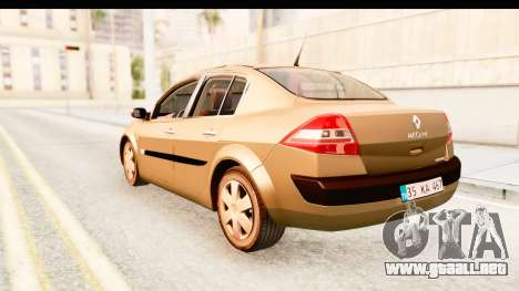 Renault Megane 2 Sedan 2003 para GTA San Andreas left