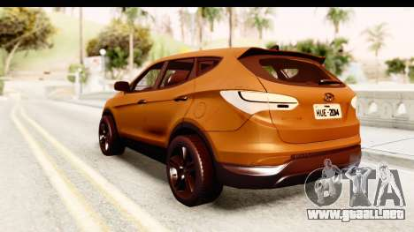 Hyundai Santa Fe 2015 para GTA San Andreas left