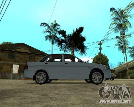 Lada Priora Armenia para la visión correcta GTA San Andreas