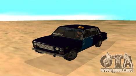 VAZ-2106 a GVR primera versión para GTA San Andreas