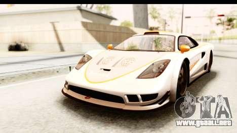 GTA 5 Progen Tyrus IVF para GTA San Andreas interior