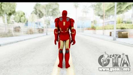 Marvel Heroes - Iron Man Mk7 para GTA San Andreas tercera pantalla
