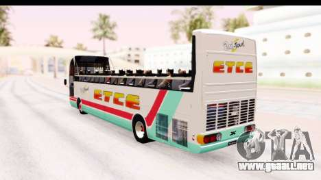 Bus Tours Dic Megadic 4x2 ETCE para GTA San Andreas left