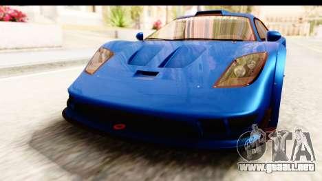 GTA 5 Progen Tyrus IVF para la vista superior GTA San Andreas