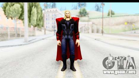 Marvel Heroes - Thor (The Avengers) para GTA San Andreas segunda pantalla
