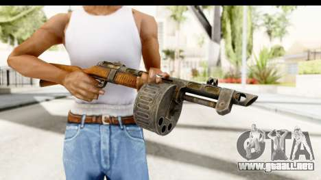 The Terrible Shotgun para GTA San Andreas tercera pantalla
