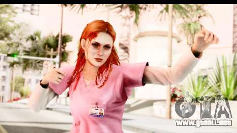 Silent Hill Shattered Memories - Lisa Garland para GTA San Andreas