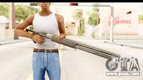 MP-153 para GTA San Andreas tercera pantalla