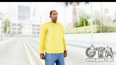 I Feel Like Kobe Sweatshirt para GTA San Andreas