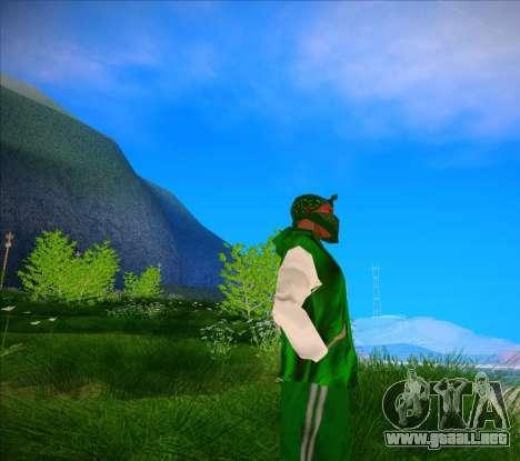 El Lunsdale Chaqueta para GTA San Andreas segunda pantalla