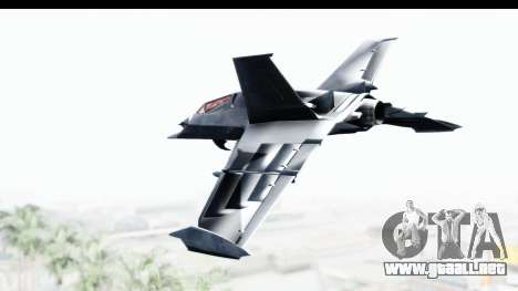 Batman Arkham Origins - Batwing para GTA San Andreas left