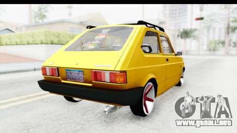 Fiat Spazio Tr Street para GTA San Andreas left
