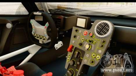 Scuderia Glickenhaus SCG 003C para visión interna GTA San Andreas