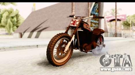 GTA 5 Western Cliffhanger Custom v1 IVF para la visión correcta GTA San Andreas