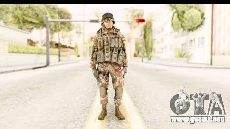 Danish Soldier para GTA San Andreas segunda pantalla