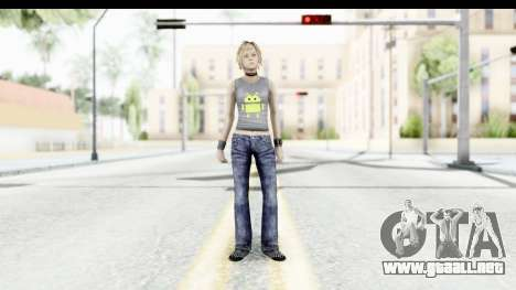 Silent Hill 3 - Heather Sporty Gray Pixel Droid para GTA San Andreas segunda pantalla