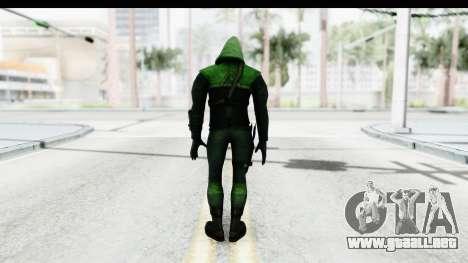 Injustice God Among Us - Green Arrow TV Show para GTA San Andreas tercera pantalla