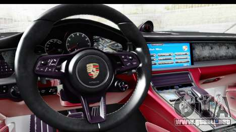 Porsche Panamera 4S 2017 v1 para la visión correcta GTA San Andreas
