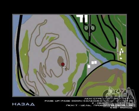 Armenian Flag On Mount Chiliad V-2.0 para GTA San Andreas octavo de pantalla