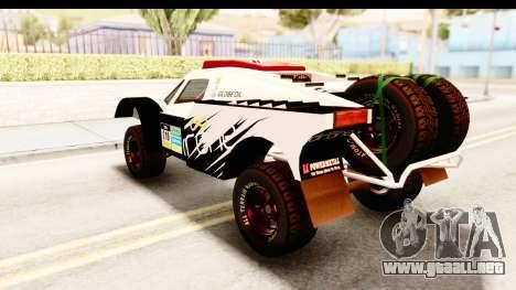 GTA 5 Desert Raid SA Lights PJ para la vista superior GTA San Andreas