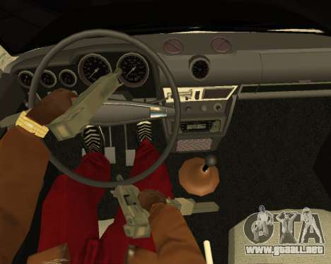 VAZ 2106 Armenian para la visión correcta GTA San Andreas