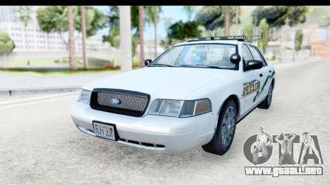 Ford Crown Victoria 2009 Southern Justice para GTA San Andreas