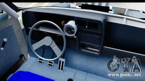 Fiat 147 para vista lateral GTA San Andreas