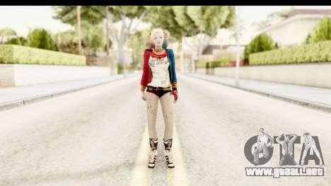 Suicide Squad - Harley Quinn para GTA San Andreas segunda pantalla