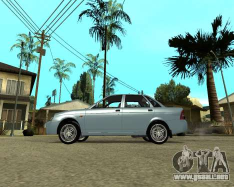 Lada Priora Armenia para GTA San Andreas left