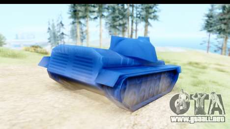Tank M60 from Army Men: Serges Heroes 2 DC para GTA San Andreas left