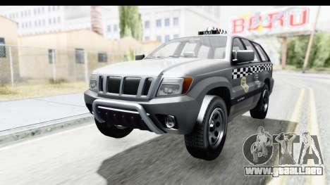 GTA 5 Canis Seminole Taxi para GTA San Andreas