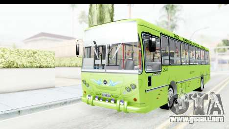 Bus La Favorita Ecotrans para GTA San Andreas