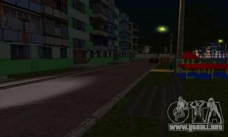 El nuevo distrito cerca de Arzamas para GTA San Andreas novena de pantalla