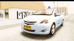 Toyota Vios 2008 Taxi Blue Bird