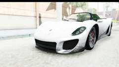 GTA 5 Pfister 811 SA Lights para GTA San Andreas