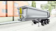 Trailer Volvo Dumper para GTA San Andreas