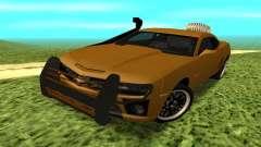Chevrolet Camaro 2010 para GTA San Andreas