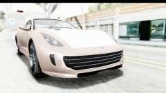 GTA 5 Grotti Bestia GTS with MipMap para GTA San Andreas